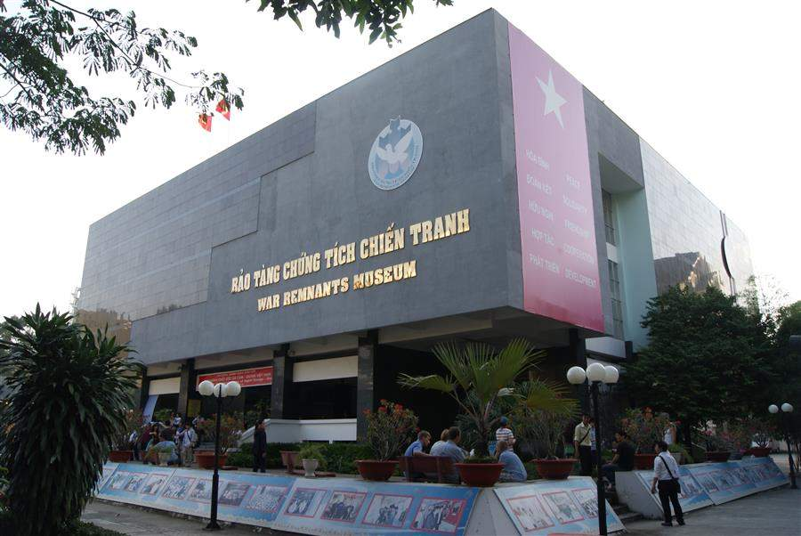 Kết quả hình ảnh cho bảo tàng chứng tích chiến tranh